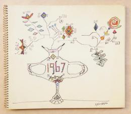 The Sketch Book for 1967: 31 Drawings By Steinberg