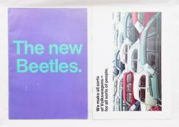 The new Beetles. + We make all sorts of Volkswagens - for all sorts of people.