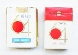 とうきょう64 FILTER CIGARETTES + とうきょう64 FILTER TIPPED