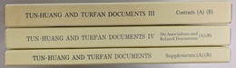 TUN-HUANG AND TURFAN DOCUMENTS -  Ⅲ、Ⅳ、別冊