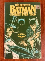 THE GREATEST BATMAN STORIES EVER TOLD Vol.2【アメコミ】【原書トレードペーパーバック】