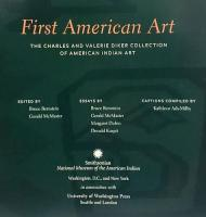 First American Art The Charles and Valerie Diker Collection of American Indian Art アメリカンインディアンの芸術