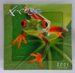 Frogs 2001 calendar picture