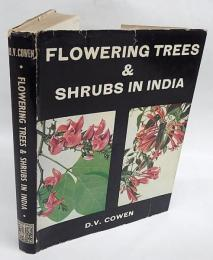 Flowering trees and shrubs in India ハードカバー