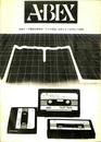 ABEX 市販テープ電磁変換特製 ラジオ技術 82年2、4、7、9月号より...