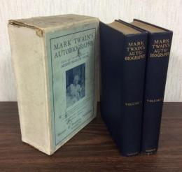 MARK TWAIN'S AUTOBIOGRAPHY VOLUME I・II 全2巻揃