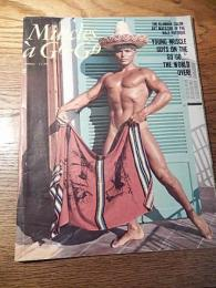 MUSCLES a GO-GO bodybuilding muscle gay interest magazine 1967年3月号