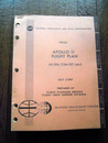 アポロ11号月面操作計画ファイナルApollo 11 FLITE  plan