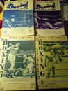ボクシング 日本と世界を結ぶ専門誌 4冊 1963年4月号 1963年5月...