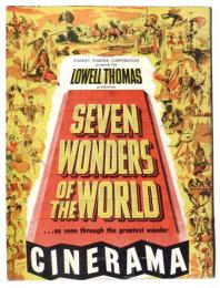 SEVEN WONDERS OF THE WORLD  Produced by Lowell Thomas 世界の七不思議