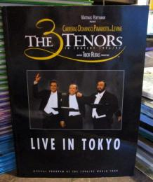 THE 3 TENORS  LIVE IN TOKYO 1996,97 パンフレット