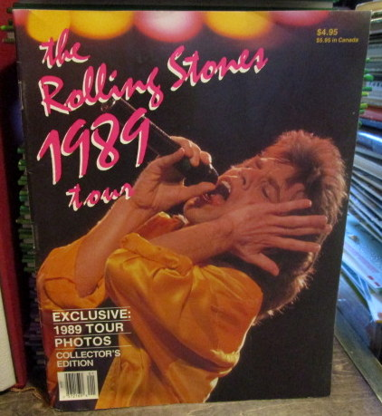 the Rolling Stones 1989 tour