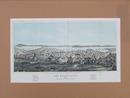 サンフランシスコ 1854(安政4)年 石版折込挿画