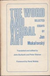 The word and verbal art : selected essays by Jan Mukařovský