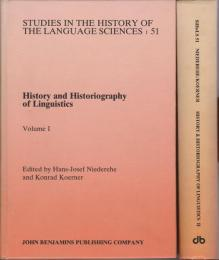 History and historiography of linguistics