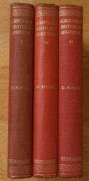 The scriptores historiae Augustae : in three volumes