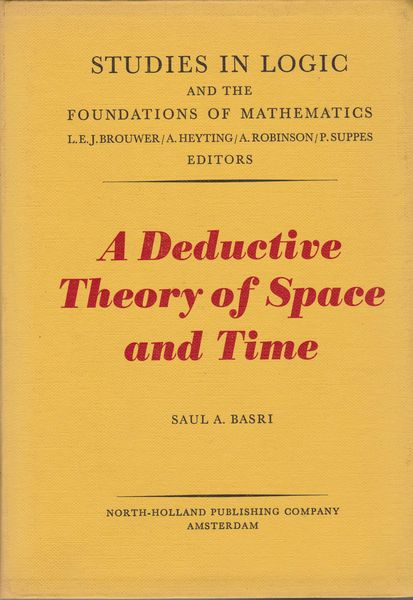 A deductive theory of space and time