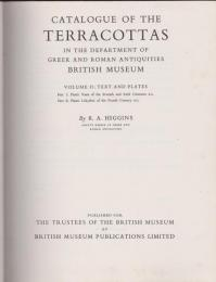 Catalogue of the terracottas in the department of Greek and Roman antiquities British Museum