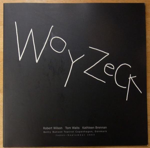 ベティ・ナンセン劇場「ヴォイツェク」プログラム Woyzeck(ビュヒナー ...