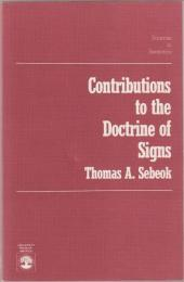 Contributions to the doctrine of signs