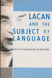 Lacan and the subject of language.