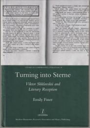 Turning into Sterne : Viktor Shklovskii and literary reception