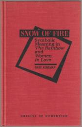Snow of fire : symbolic meaning in The rainbow and Women in love