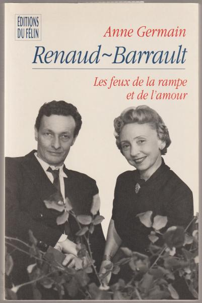 Renaud Barrault Les Feux De La Rampe Et De L Amour Anne Germain Ʋ³é‡Žæ›¸åº— ŏ¤æœ¬ ĸå¤æœ¬ ŏ¤æ›¸ç±ã®é€šè²©ã¯ Ɨ¥æœ¬ã®å¤æœ¬å±‹ Ɨ¥æœ¬ã®å¤æœ¬å±‹