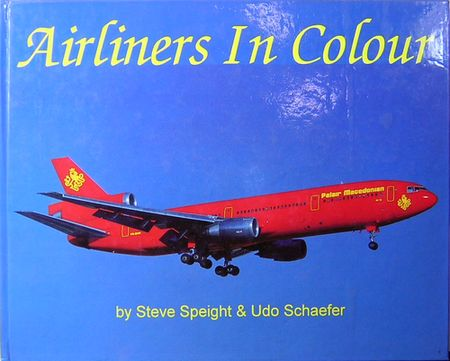 AirLiners In Colour  洋書:旅客機写真集