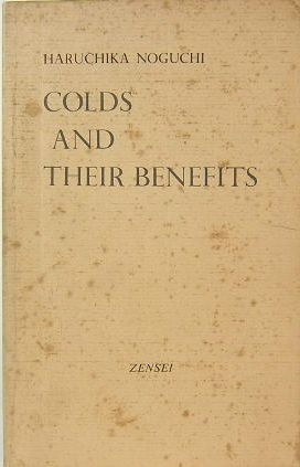 COLDS AND THEIR BENEFITS