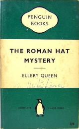 ELLERY QUEEN / The Roman Hat Mystery PENGUIN BOOKS 1149