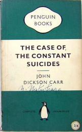 JOHN DICKSON CARR / The Case of The Constant Suicides PENGUIN BOOKS 947