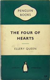 ELLERY QUEEN / The Four Of Hearts  PEUGUIN BOOKS 1296