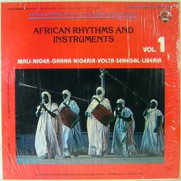 AFRICAN RHYTHMS AND INSTRUMENTS Vol.1  US盤 LPレコード