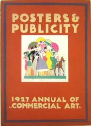 POSTERS & PUBLICITY  1927 Annual of Commercial Art
