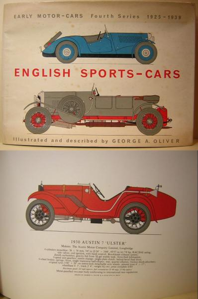 ENGLISH SPORTS-CARS  Early Motor-Cars  Fourth Series   1925-1939