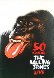 50 & COUNTING… THE ROLLING STONES LIVE ツアー・パンフレット