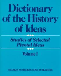 Dictionary of the History of Ideas vol.1-4/Index