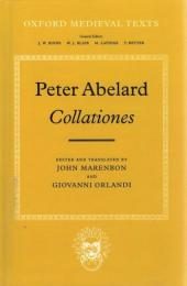 Peter Abelard Collationes (Oxford Medieval Texts)