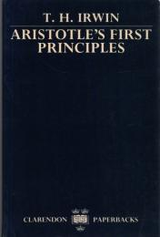 Aristotle's First Principles