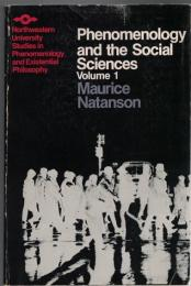 Phenomenology and the Social Sciences vol.1/2