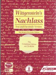 Wittgenstein's Nachlass : Text and Facsimile Version (The Bergen Electronic Edition CD-ROM)