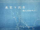 東京ト北京 五万分之一 鉄道線路図