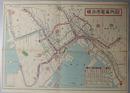 横浜市電案内図 (1/25000)  横浜郊外近県案内図