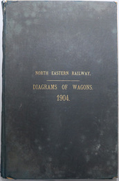 NORTH EASTERN RAILWAY.  DIAGRAMS OF WAGONS.1904.