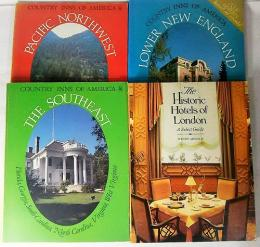 COUNTRY INNS OF AMERICA3冊・Historic Hotels OF London1冊・全4冊