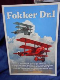 洋書 WINDSOCK DATAFILE SPECIAL Fokker Dr.1 1991年 フォッカー