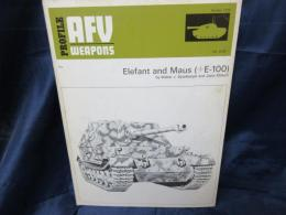 Afv Weapons Profile Elefant and Maus エレファント マウス 戦車