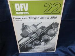 洋書 AFV Weapons Profile 22   Panzer Kampfwagen 38(t) And 35(t)wm