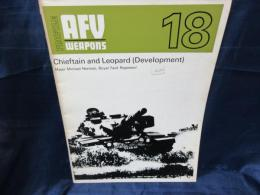 洋書 AFV Weapons Profile 18  Chieftain and Leopard (Development) チーフテン /レオパルト 戦車 開発期